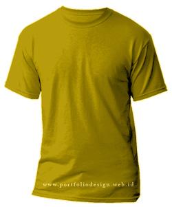 kaos-polos-warna-kuning