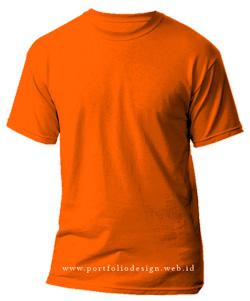 kaos-polos-warna-orange
